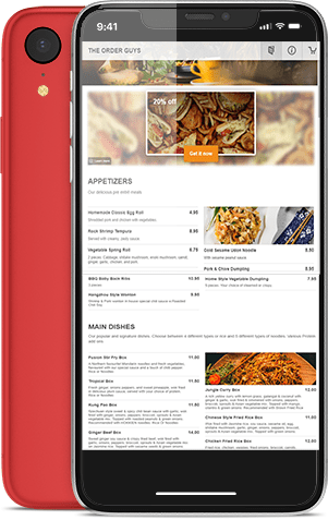 Local Mobile App Online Ordering