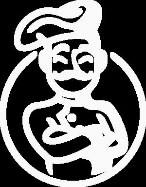 logo the order guys white