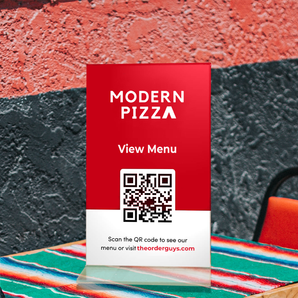 QR Codes for table top demo